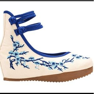 Shoes - Beautiful Asian style cheongsam embroidered shoes